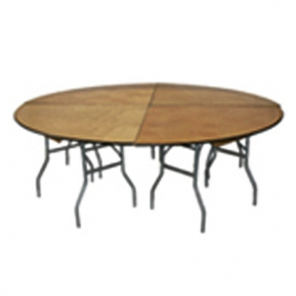 Table Round 8ft (4 piece)