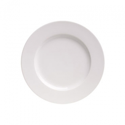 Arctic White Dinner Plate 10.5in