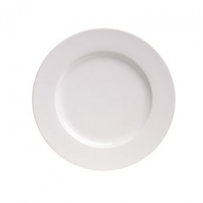 Arctic White Dinner Plate 12in