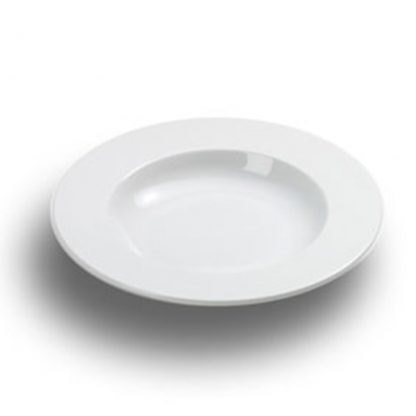 Arctic White Pasta Plate 12in