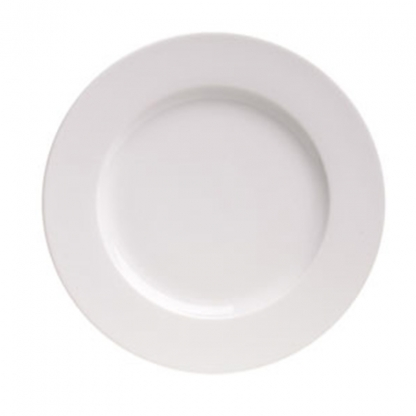 Arctic White Side Plate Round 6in