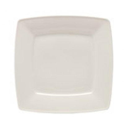 Arctic White Side Plate Square 6.5in