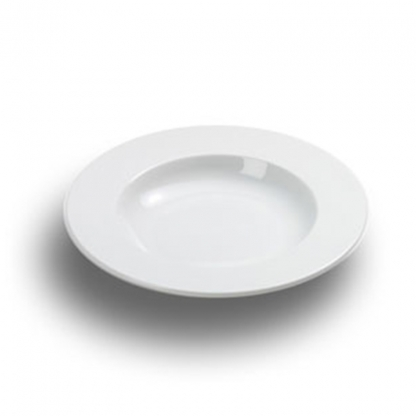 Arctic White Soup Plate 9in