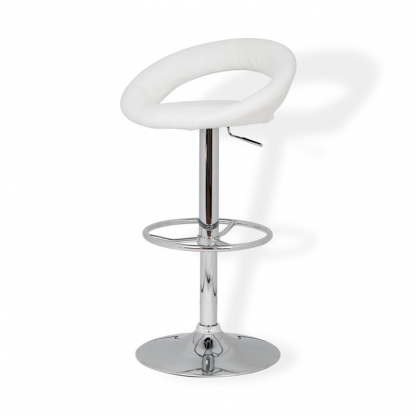 Aurora Bar Stool White