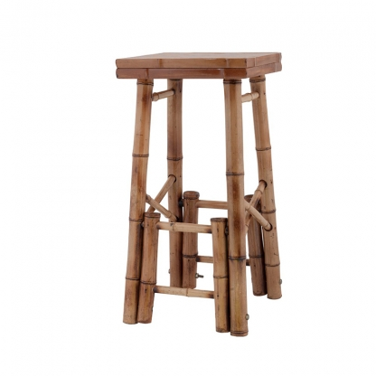 Bamboo Tiki Bar Stool