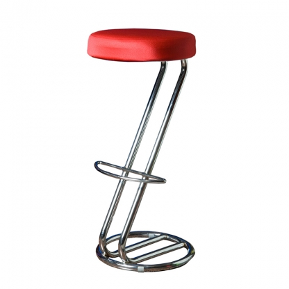 Bar Stool Cover Red