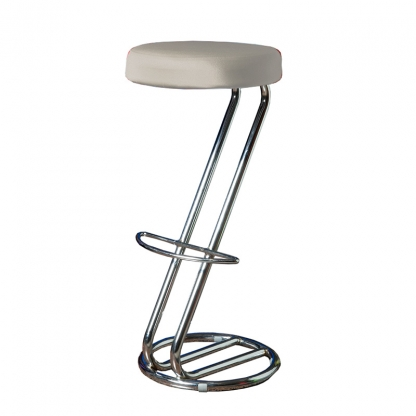 Bar Stool Cover silver