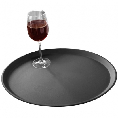 Bar Tray - Non Slip Black 16in