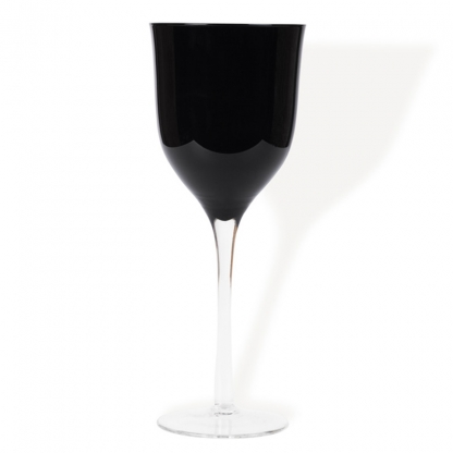 Black Neo Wine Glass 12oz