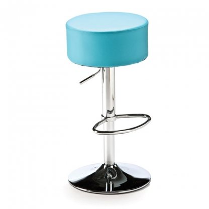 Button Bar Stool Blue