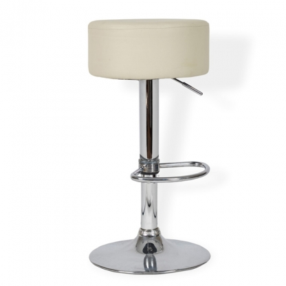 Button Bar Stool Cream
