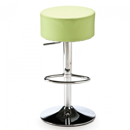 Button Bar Stool Mint Green