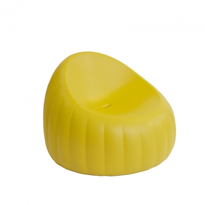 Candy Lounge Armchair -Soft yellow