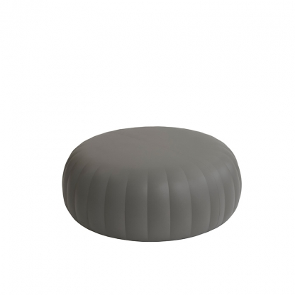 Candy ottoman grey - Large