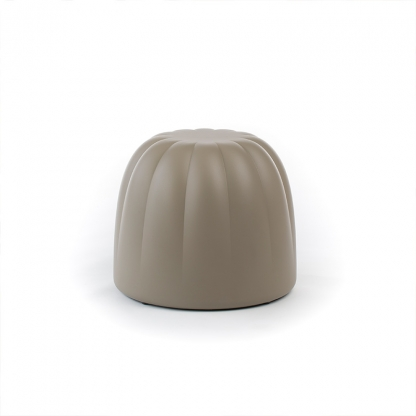 Candy ottoman  - grey small