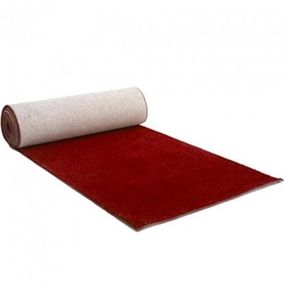 Carpet Walkway Red 33ft/10m