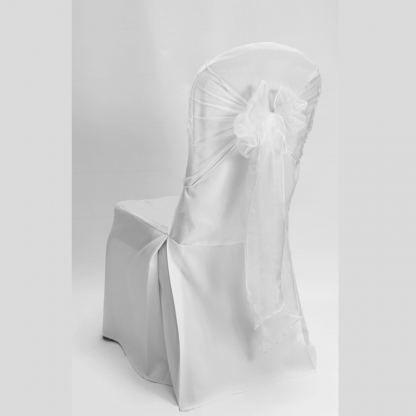 Chair Tie / Table Runner White Organza