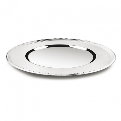 Charger Plate Silver 13in