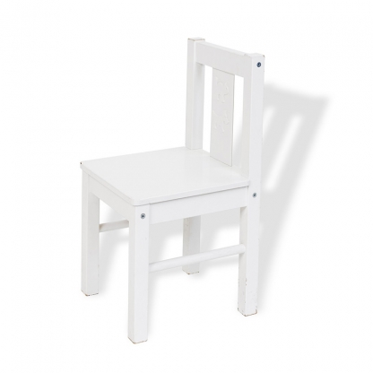 Children's Chair Wooden White