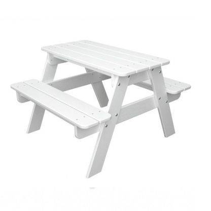 Children's Picnic Bench White