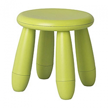 Children's Stool Lime Green