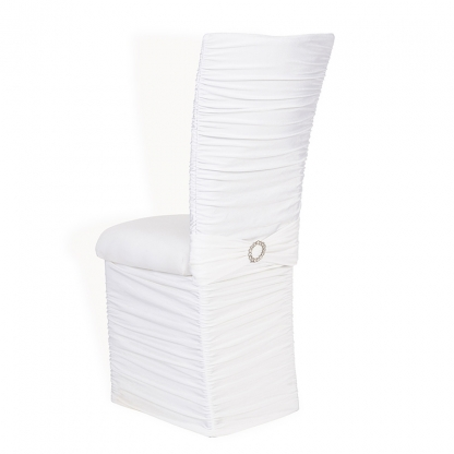 Chloe Chair with Skirt