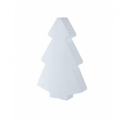 Christmas Tree Illuminated White 2m