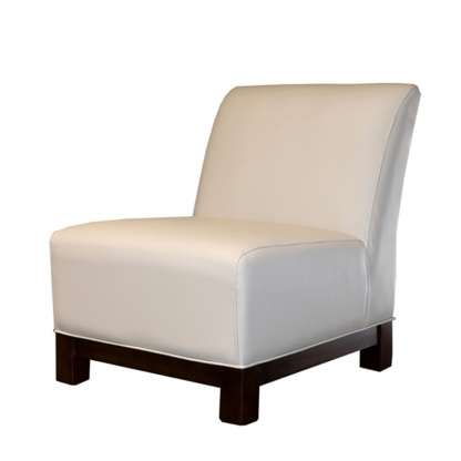 Club Armchair Cream Leather