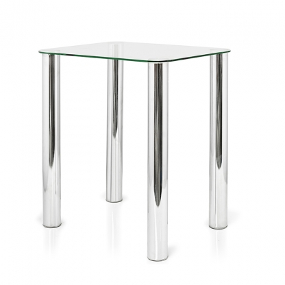 Coffee Table Glass 17.5in High