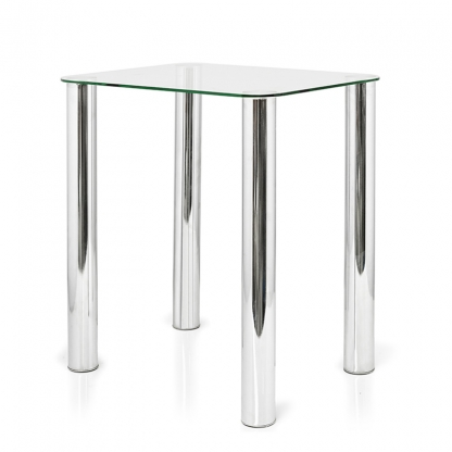 Coffee Table Glass 20in High