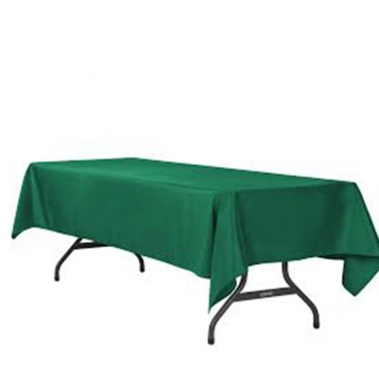 Conference Cloth Dark Green 120in x 60in