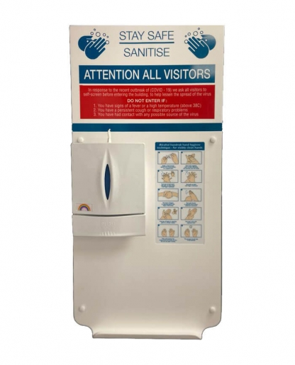 Corian Wall Mounted Sanitiser Unit (B) FOR SALE