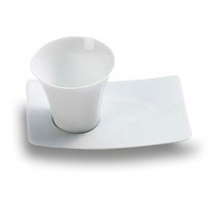 Cup & Saucer Mini Dish White