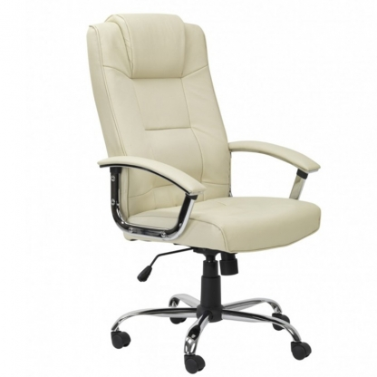 Executive Swivel Chair Cream