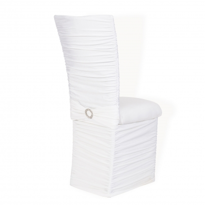 Chameleon Chair with Ruffled Chloe Back