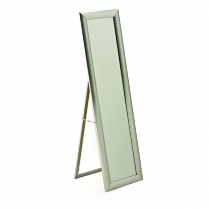 Freestanding Mirror Chrome Frame