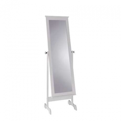 Freestanding Mirror Wood Frame