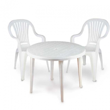 Garden Chair/Patio Chair White
