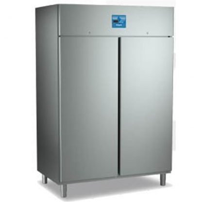 Gastro Double Door Fridge Stainless Steel