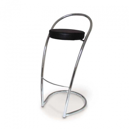 Gazelle Bar Stool Black