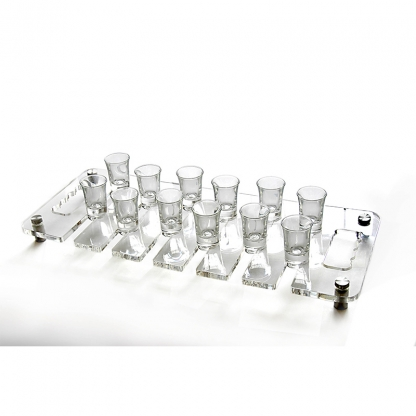 Glass Holder Tray Clear (12 glasses)