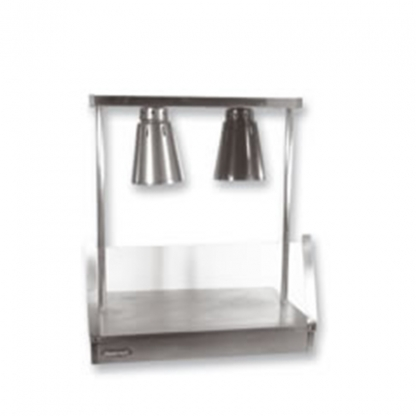 Heated Carvery Unit Stainless Steel 2 Lamp