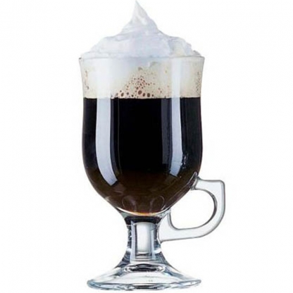 Irish Coffee Glass with Handle 8oz (25 glasses per rack)