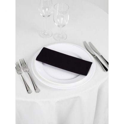 Linen Napkin Black 20in x 20in