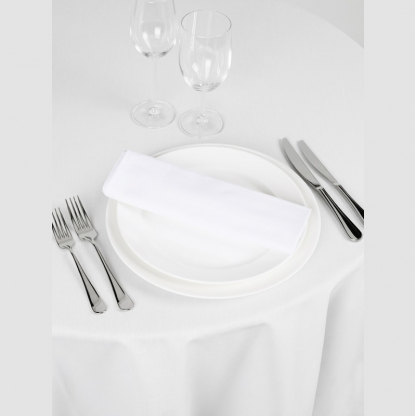 Linen Napkin White 20in x 20in