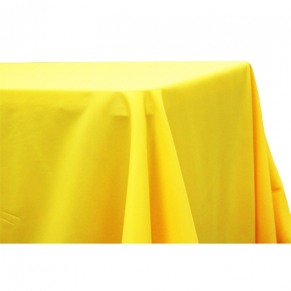 Linen Tablecloth Yellow 60in x 60in