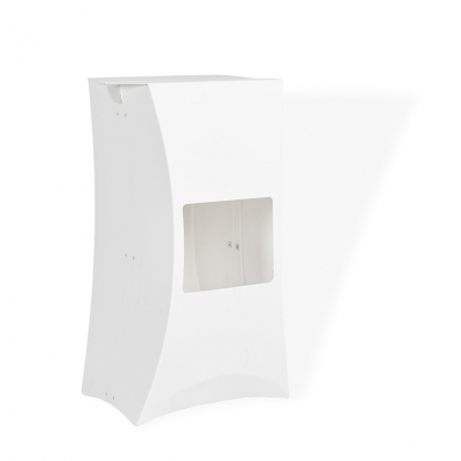 Lux Bar Stool White