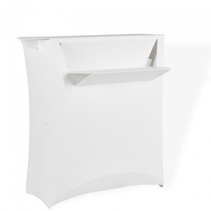 Lux Registration Counter / Bar Unit White