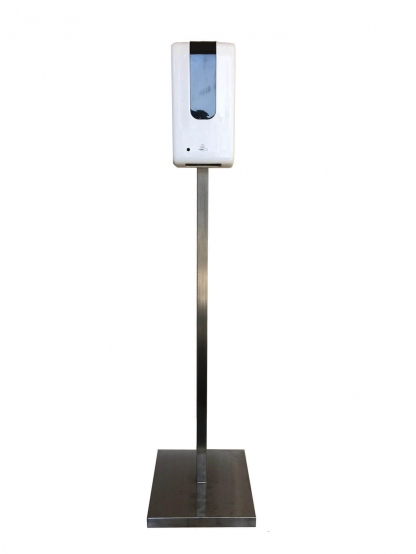Automatic Free Standing Stainless Steel Hand Sanitiser Unit FOR HIRE