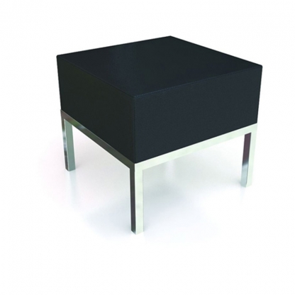 Neo Coffee Table Black Leather